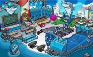 La Playa durante la Copa Club Penguin