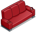 Red Designer Couch sprite 031
