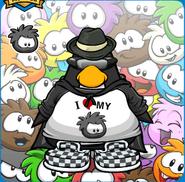 Black Puffle Mariocart25