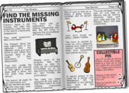 Instrument Hunt newspaper article
