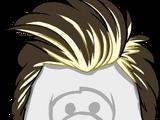 Peinado Bicolor con Tupé