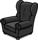 Plush Gray Chair sprite 002