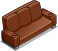 Brown Designer Couch sprite 029