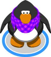 Cornflower Scarf in-game