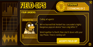 Clubpenguin-field-ops-assignment 1