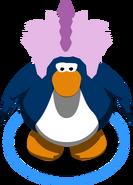 Gorro de Puffle Estegosaurio juego