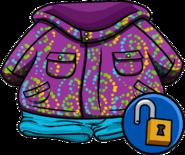 Purple Whirl Snowsuit unlockable icon