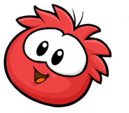 Red Puffle Cute2