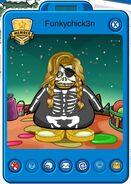 Tarjeta de Jugador de Funkychick3n (durante la Fiesta Pirata 2014)