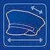 Gorra de policía Icono