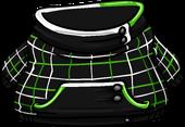 Green Grid Hoodie