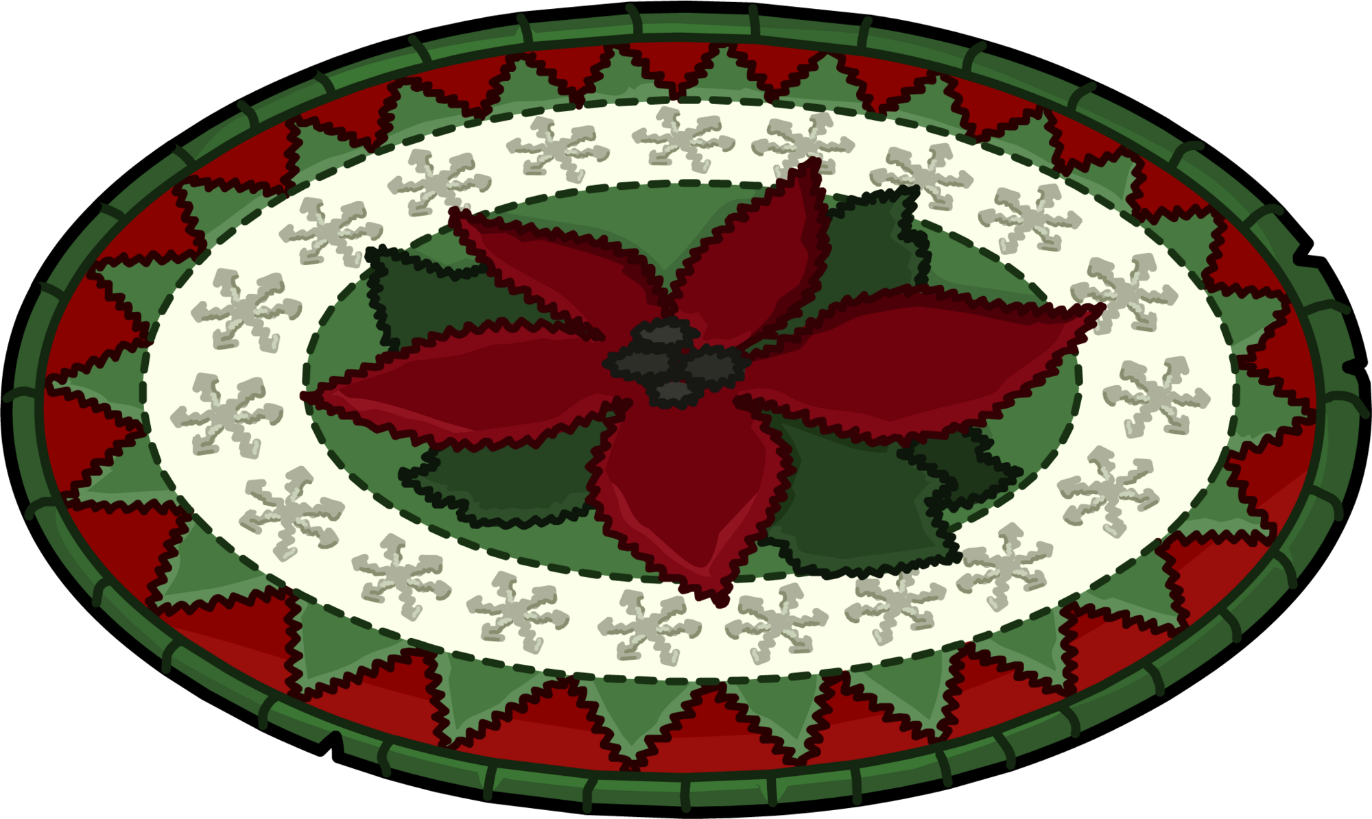 Holly Jolly Rug | Club Penguin Wiki | FANDOM powered by Wikia