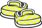 Yellow Checkered Shoes icon