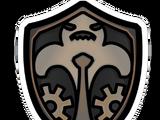 Pin de Escudo Familiar de Gariwald