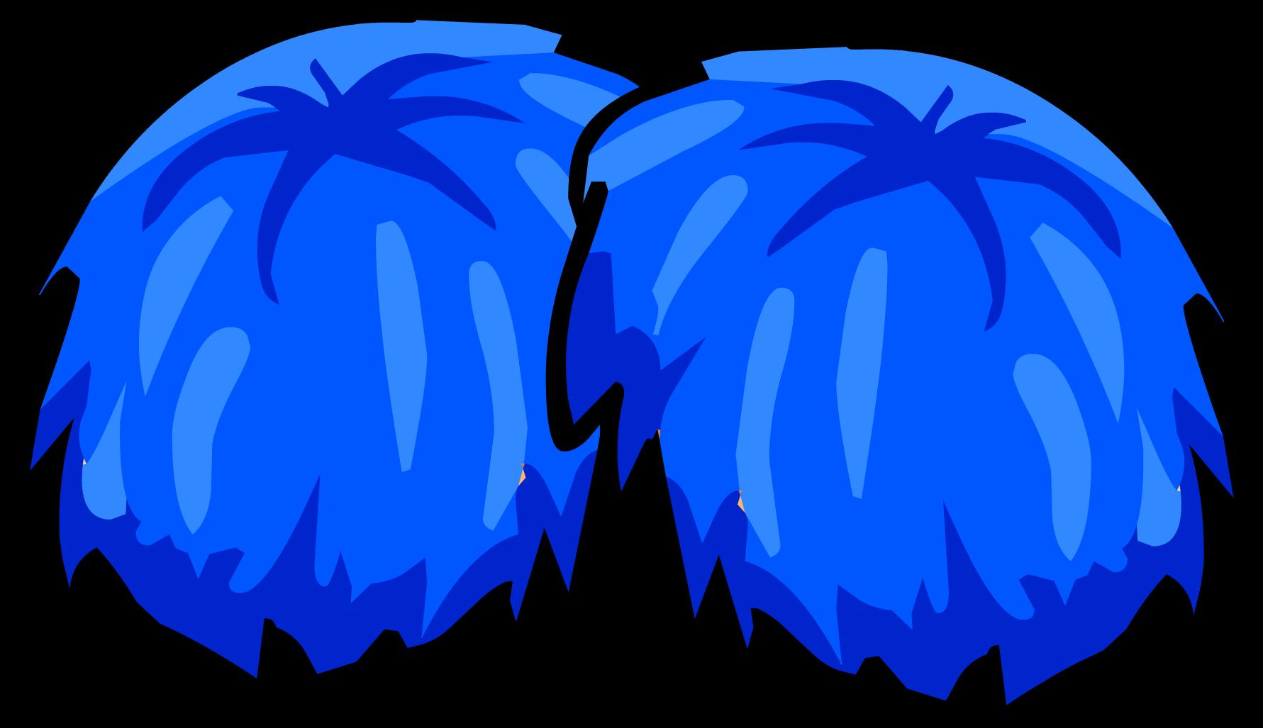 blue pompoms club penguin wiki fandom powered by wikia