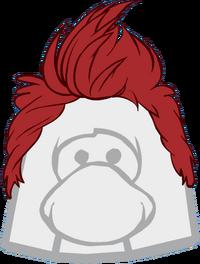 Peinado Cresta Roja icono