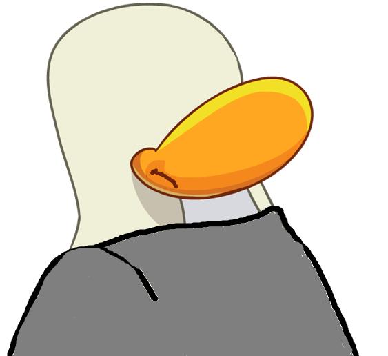 Pinguino sin cara
