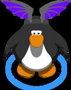 Purple Bat Wings in-game