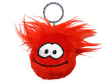 Red Puffle Keychain