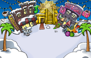 Winter Fiesta 2009 Town