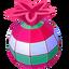 Piñata navideña icono