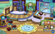 Puffle Party 2013 Ski Lodge