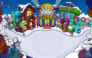 Puffle Party 2013 Town
