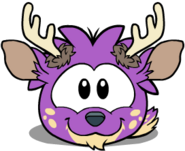 Puffle purple1019 igloo