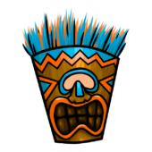 Tiki Mask clothing icon ID 7072