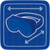 Blueprint Protective Goggles icon