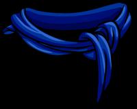 Bufanda Abrigada Azul icono