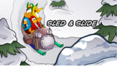 CPGD Minigame Title Sled & Slide