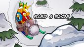 CPGD Minigame Title Sled & Slide