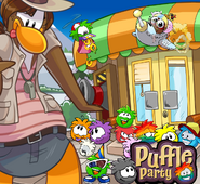 Phineas99 Puffle Party 2013 Icon