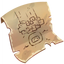 Quest item Strange Drawing solved icon