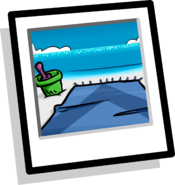A Day At The Beach Background icon