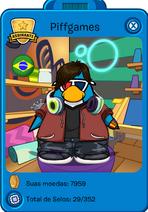 Cartão de Pinguim de Piff