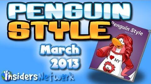 Club Penguin March 2013 Clothing Catalog Cheats