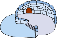 Snown Backyard Igloo igloo icon ID 30