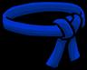 Blue Ninja Belt icon
