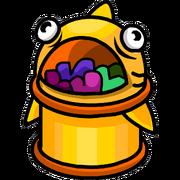 Cesto Alimenta-Puffle icono