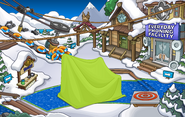 Club Penguin Island Party Ski Village