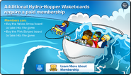 Hydro Hopper Mmembership Error