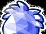 Pin de Puffle Cristal Celeste
