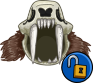 Saber Toothed Helmet clothing icon ID 11534
