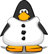 Snowman Body from a Player Card