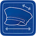 Blueprint Cop Top icon