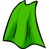 Lime Green Cape
