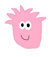 PINK PUFFLE DRAWING
