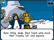 Red Team trophy
